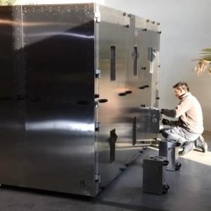 Disinfestazione tarli dai mobili con camera a microonde